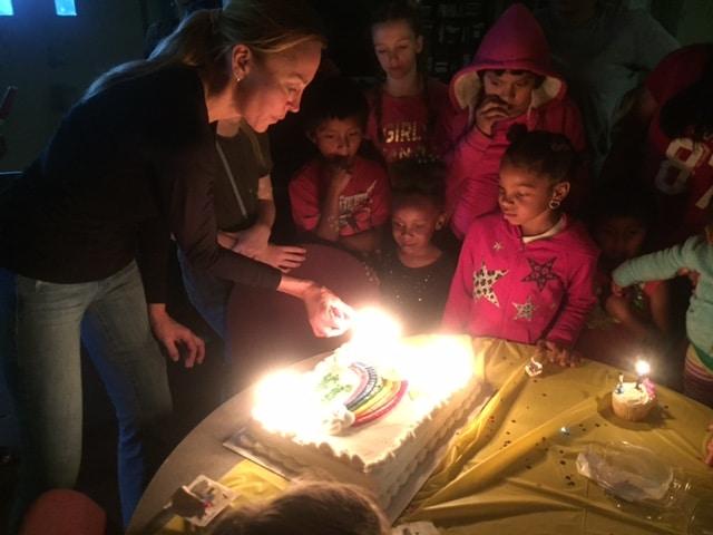 Birthday Bunch At The Shade Tree Shelter